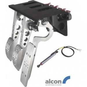 Hängande pedalställ 3 pedaler 3x Alcon cylindrar PRO-Race