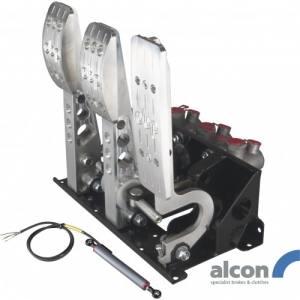 Golvmonterat pedalställ 3 pedaler 3x Alcon cylindrar PRO-Race
