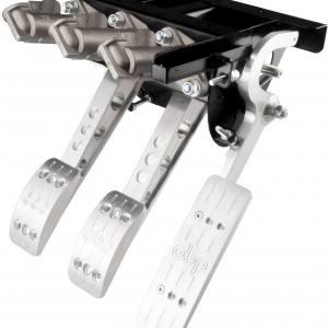 Hängande pedalställ 3 pedaler 2x huvudcylindrar cockpit V2 (VAJERKOPPLING)