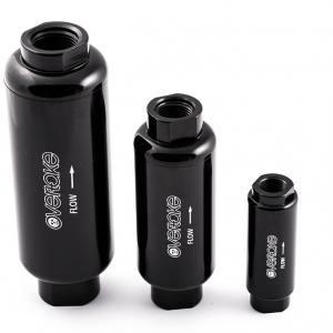 Bränslefilter 10 micron E85 svart LARGE