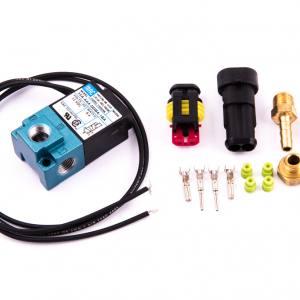 Magnetventil för elektronisk reglering av laddtryck