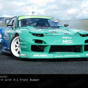 RX7 FD 92-97 WIDE BODYKIT AEROKIT SPEC X-1 James Deane EDITION