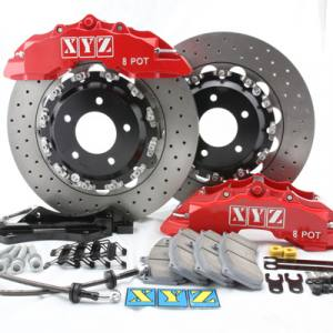 Xyz Racing Bromskit - Fram 355 mm