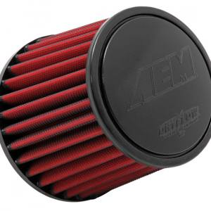 "Aem Dryflow luftfilter 4"" kort modell"