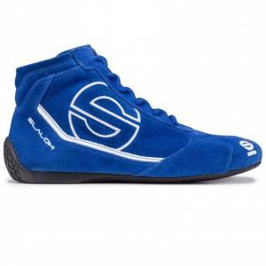 blå racing skor